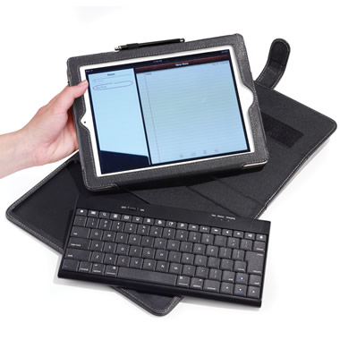 The iPad Keyboard Portfolio.