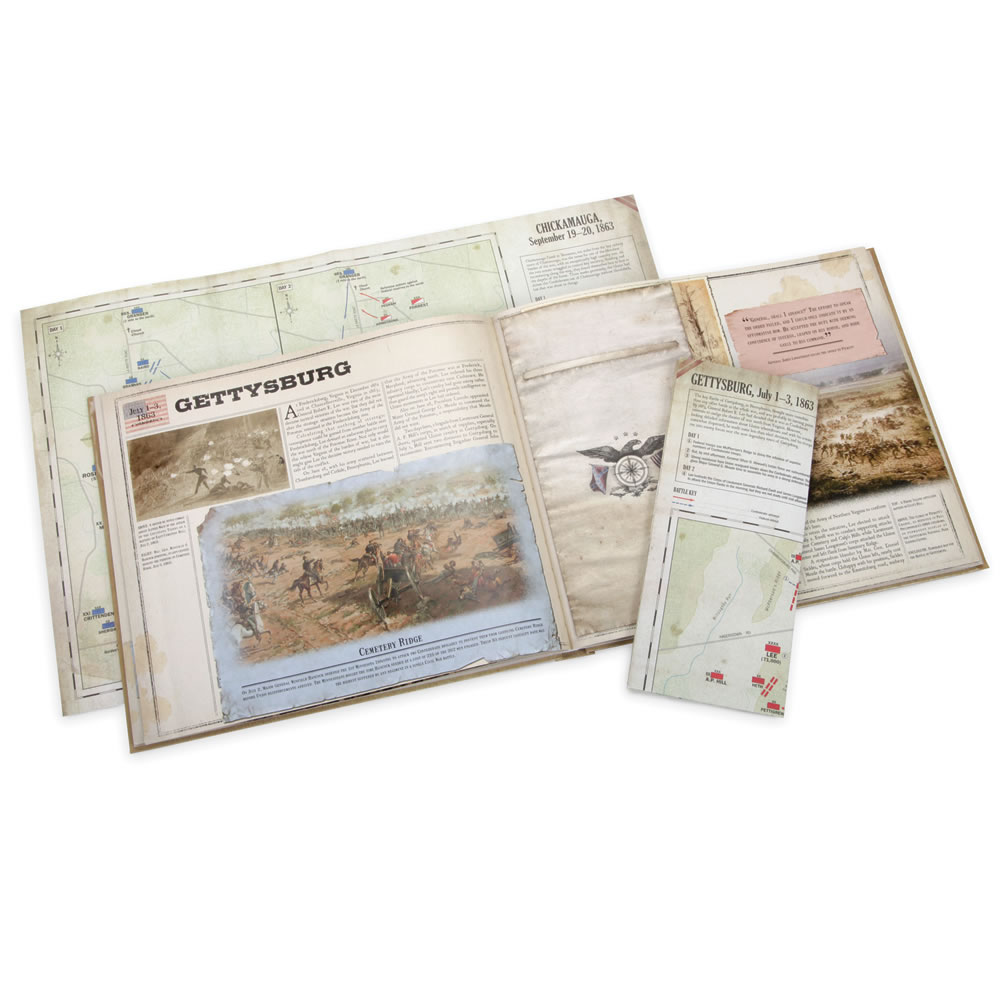 The Civil War Battlefield Map Book 1