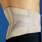 The Comfortable Compression Lumbar Wrap.