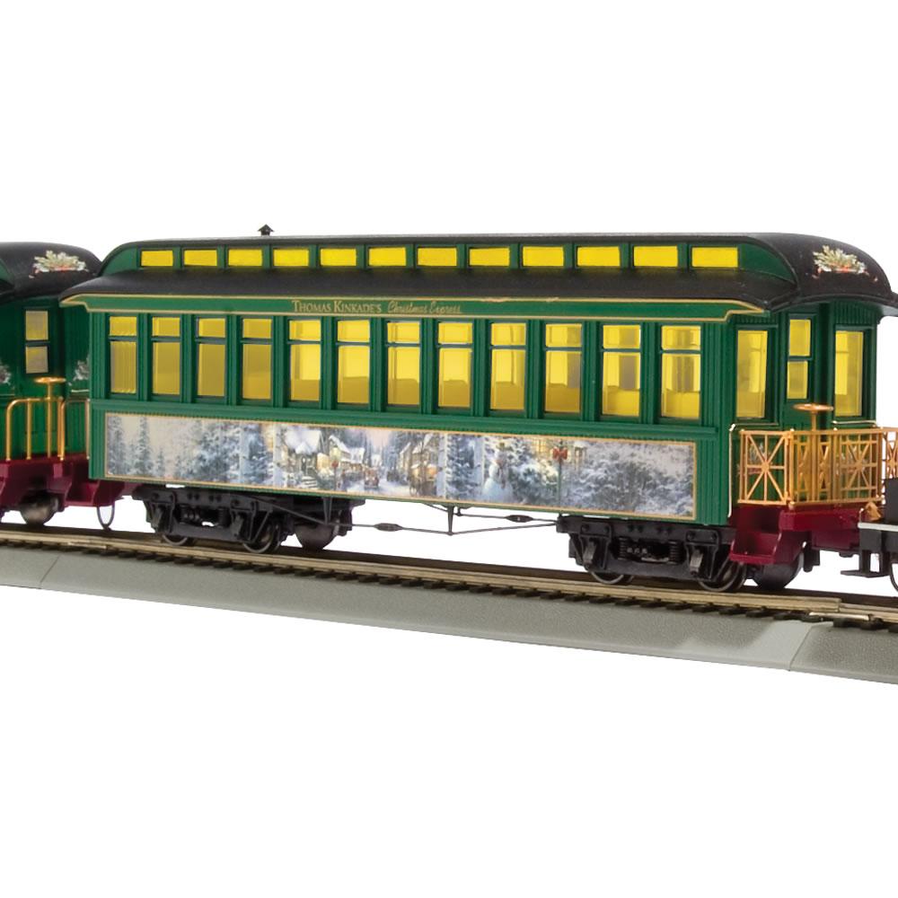 The Only Thomas Kinkade Electric Train 4