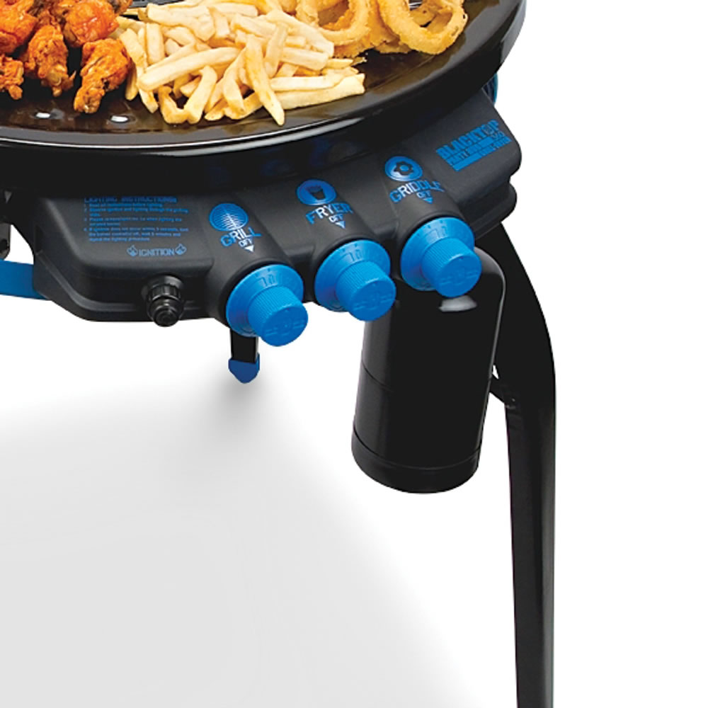 The Deep Frying Portable Grill 2