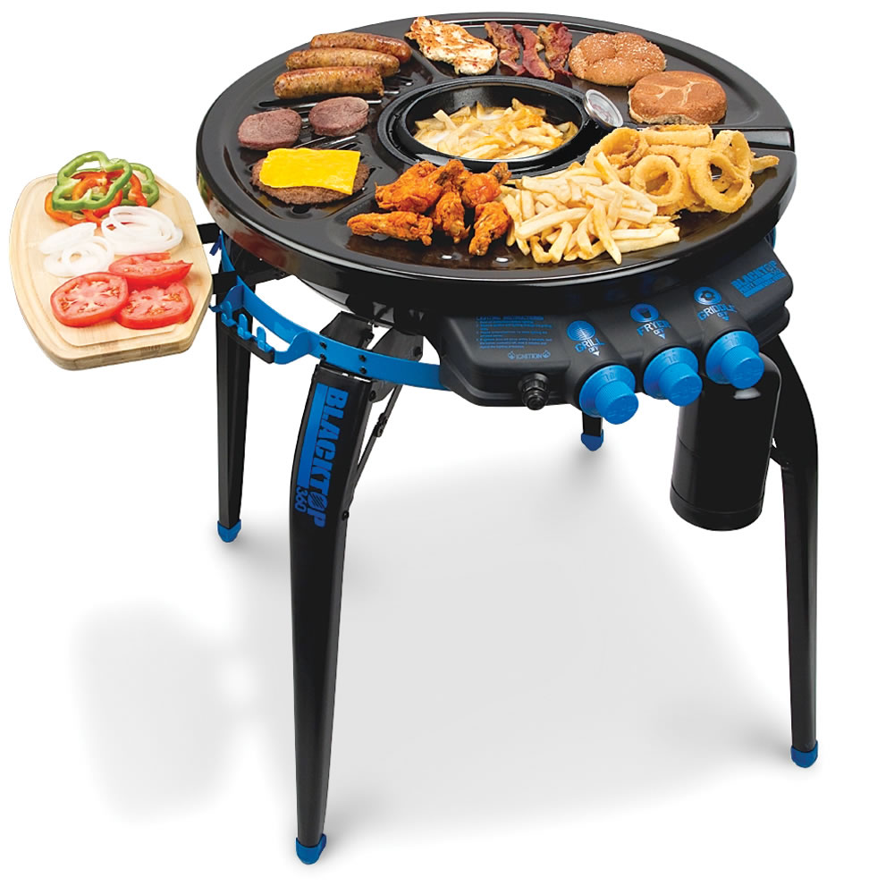 The Deep Frying Portable Grill 1