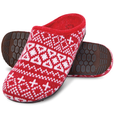 The Lady's Plantar Fasciitis Indoor/Outdoor Open Back Slippers.