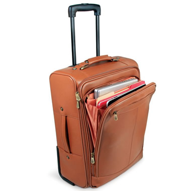 The Easy Access Rolling Carry On And Laptop Bag