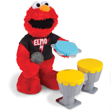 The Rocking And Rolling Elmo.