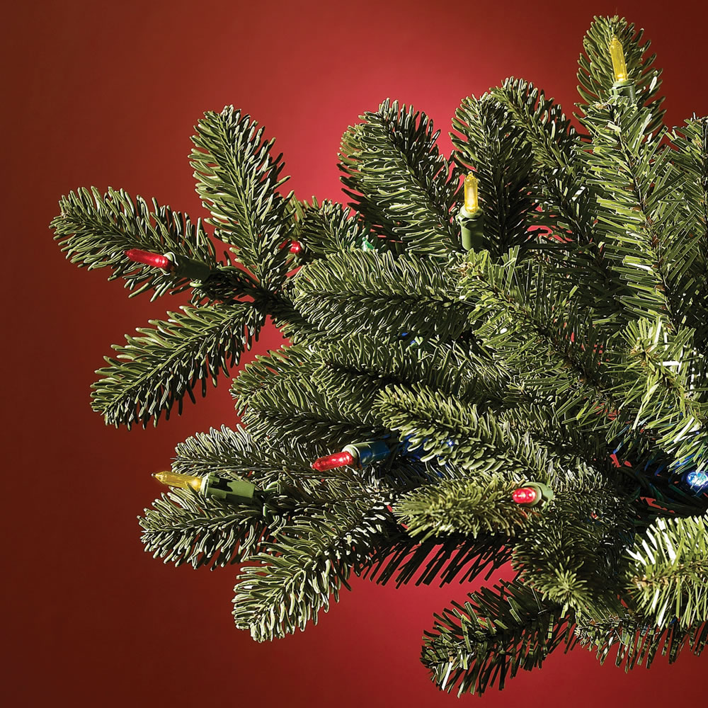 The World's Best Prelit Noble Fir (7.5' Slim LED ...