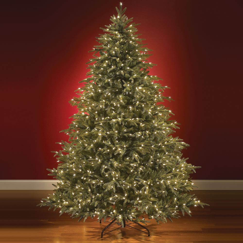 The World's Best Prelit Fraser Fir (8 5' Full) 1