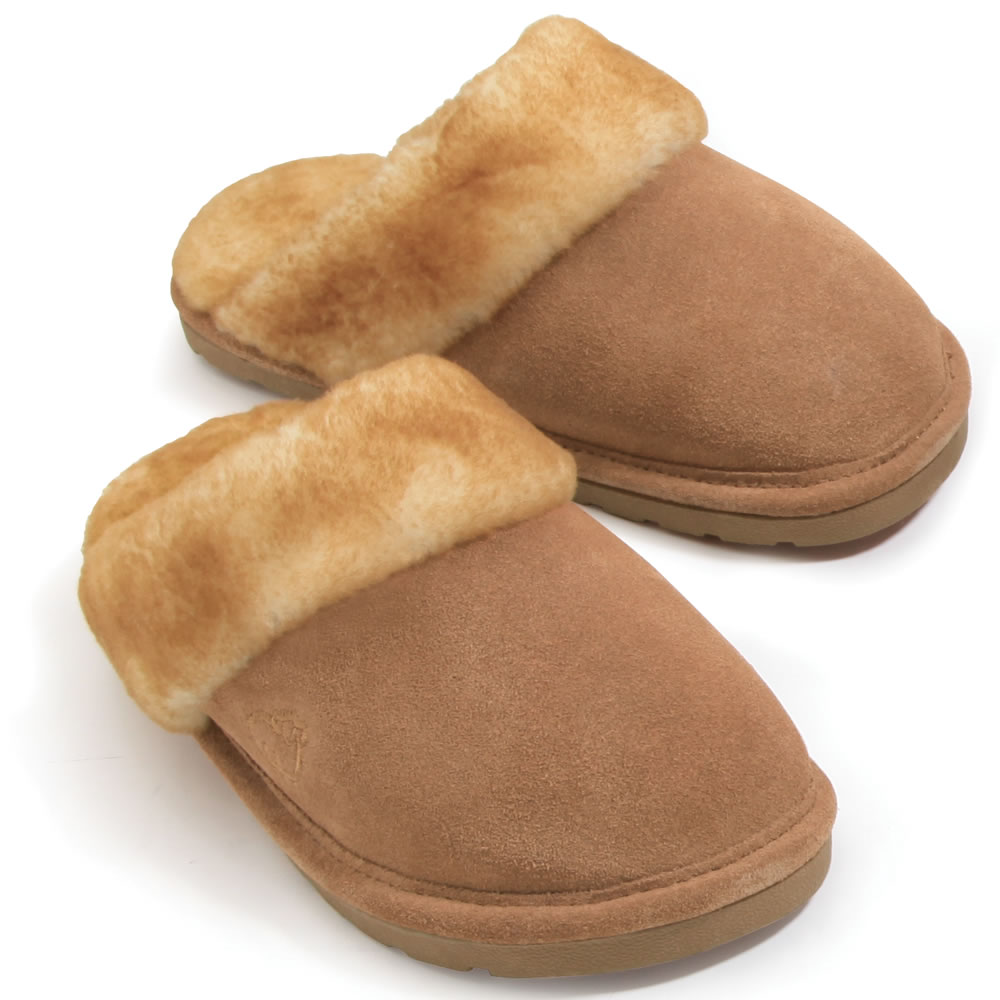 The Genuine Australian Sheepskin Scuffs (Women's)2