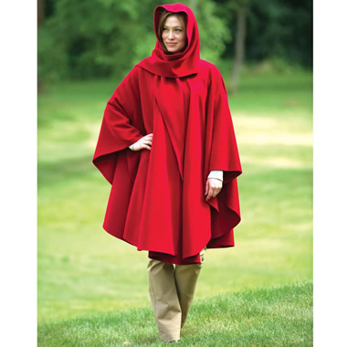The Cashmere Walking Cape.