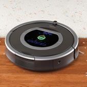 The Dirt Detecting Robotic Vacuum.