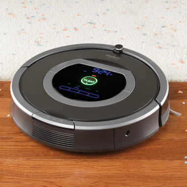 The Dirt Detecting Roomba 780.