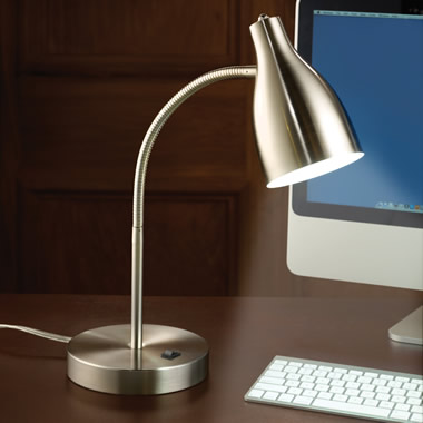 The Eyestrain Reducing Computer Lamp.