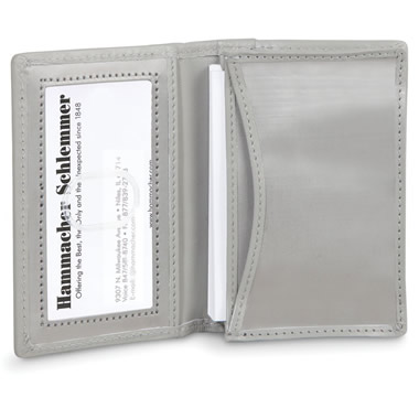 The Stainless Steel Business Card Case.