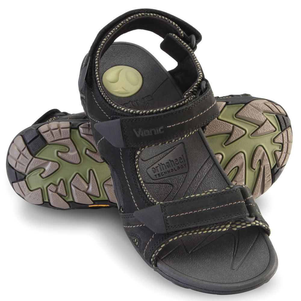 The Gentleman's Plantar Fasciitis Sport Sandals 6