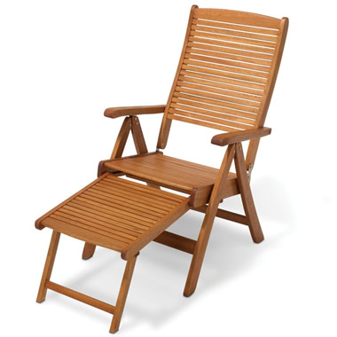 The Retractable Chaise To Deck Chair