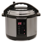 The Only 7qt. Indoor Pressure Smoker