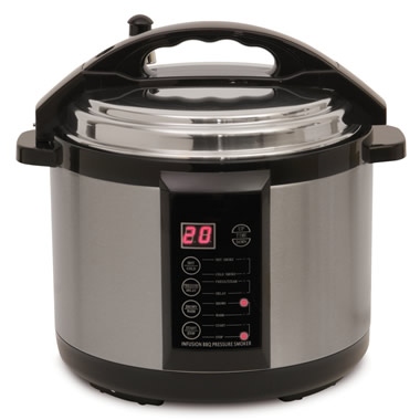 The Only 6 1/2-Quart Indoor Pressure Smoker.