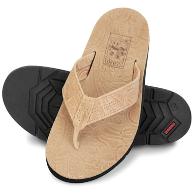 The Gentlemen's Hawaiian Thong Sandals.