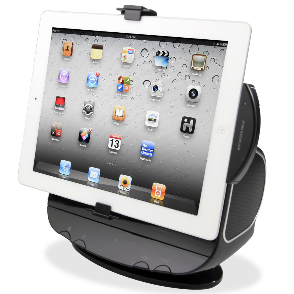 The Powered Rotation iPad Stereo Dock 2