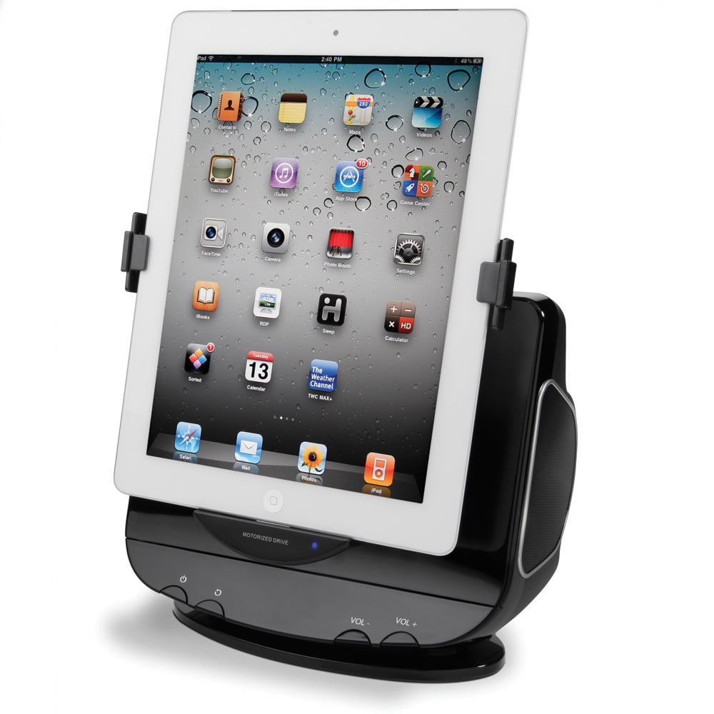 The Powered Rotation iPad Stereo Dock1