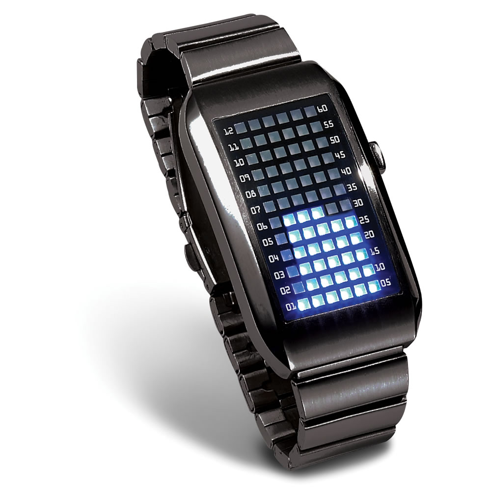 Digital Watch On Wrist