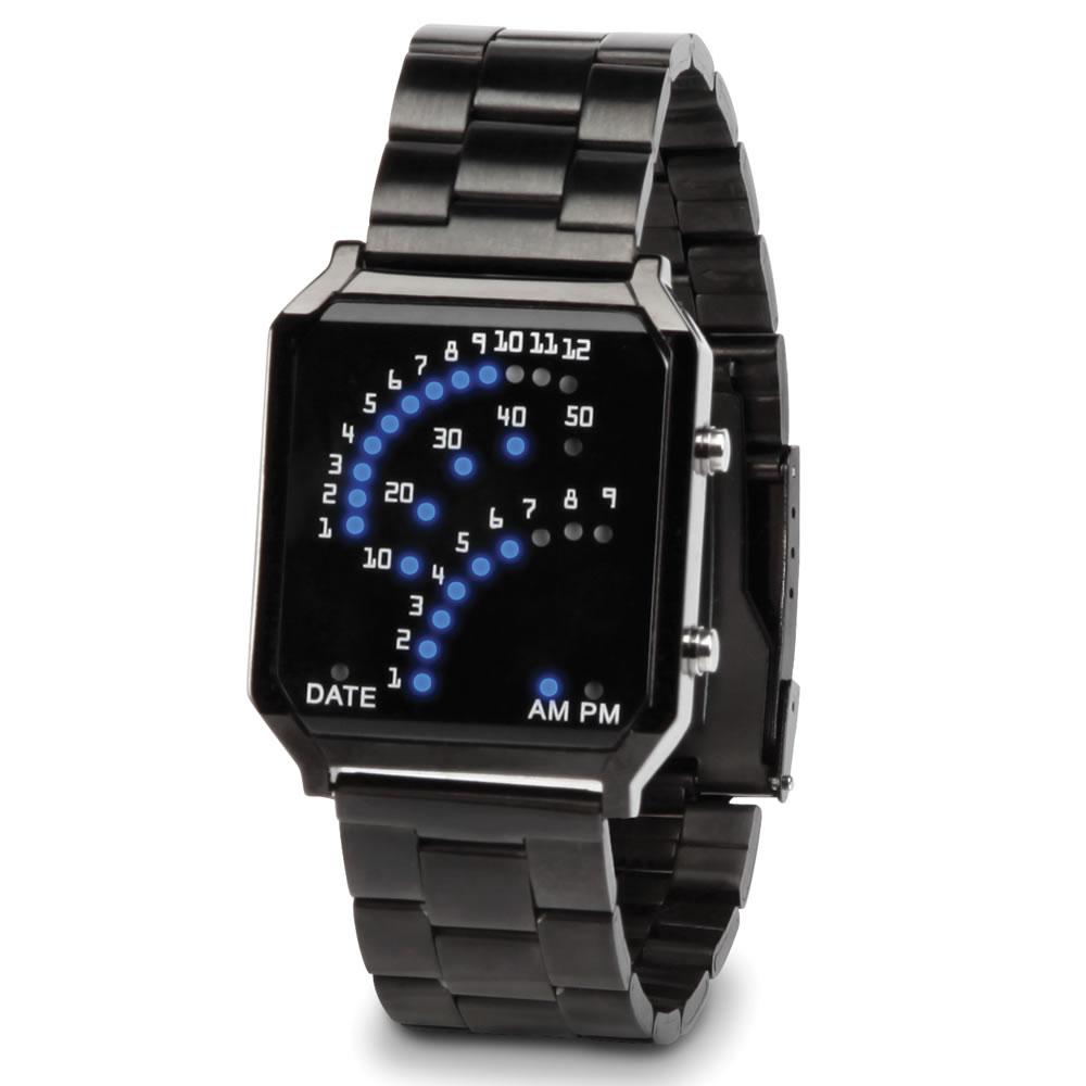 The TriArch LED Watch - Hammacher Schlemmer