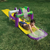 The Surprise Soaker Slide.