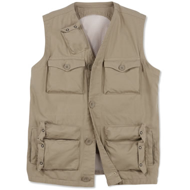 The Ventilated Travel Vest.