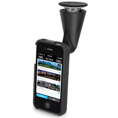 The iPhone 360 Degree Panoramic Video Lens.