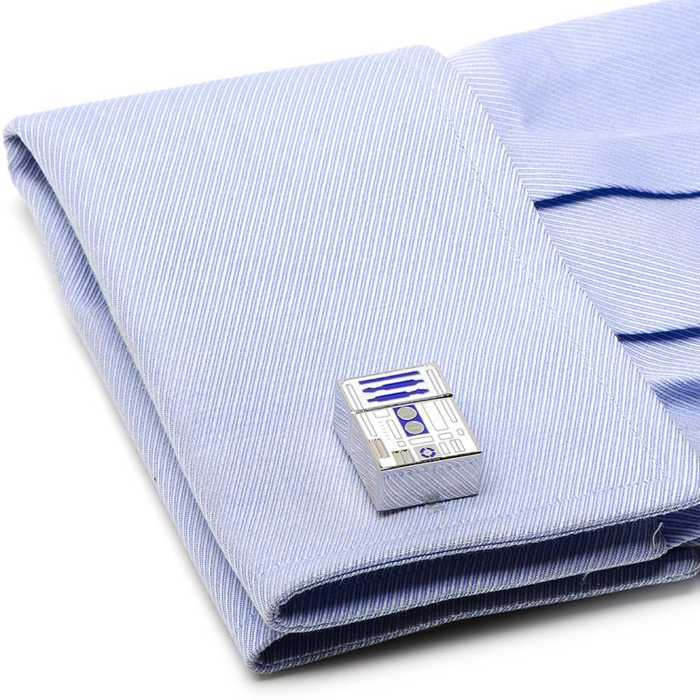 The R2-D2 USB Cufflinks 2