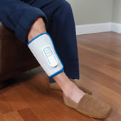 The Traveler's Circulation Enhancing Leg Massager.