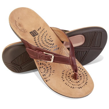 The Lady's Overpronation Correcting Sandals.