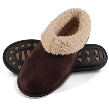 The Ladies Temperature Regulating Slippers.