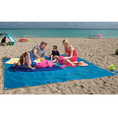 Four-Person Beach Mat.