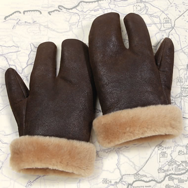The Flying Fortress Gunner's Gloves