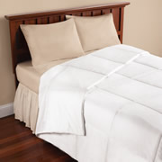 The Temperature Regulating Comforter.
