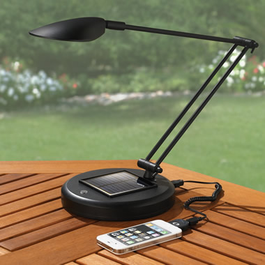 The Solar Rechargeable Reading Lamp