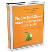 The New York Times Guide To Essential Knowledge.