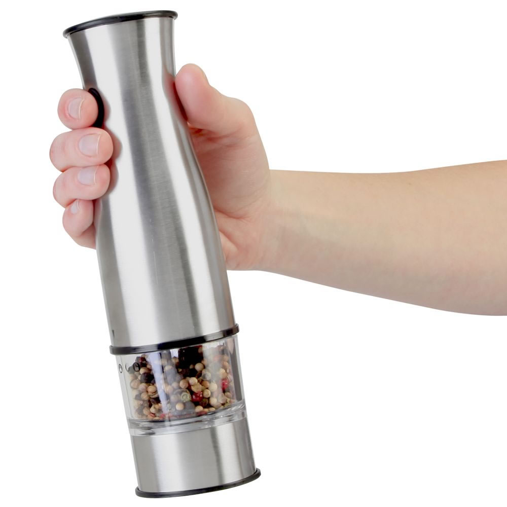 The Gourmand's Cordless Salt And Pepper Mill 2