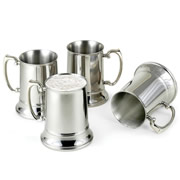 The Cold Maintaining Stainless Steel Beer Steins.