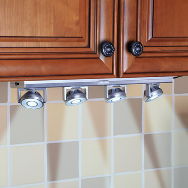 The Under Cabinet Pivoting Spotlights
