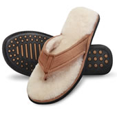 The Lady�s Shearling Comfort Slippers