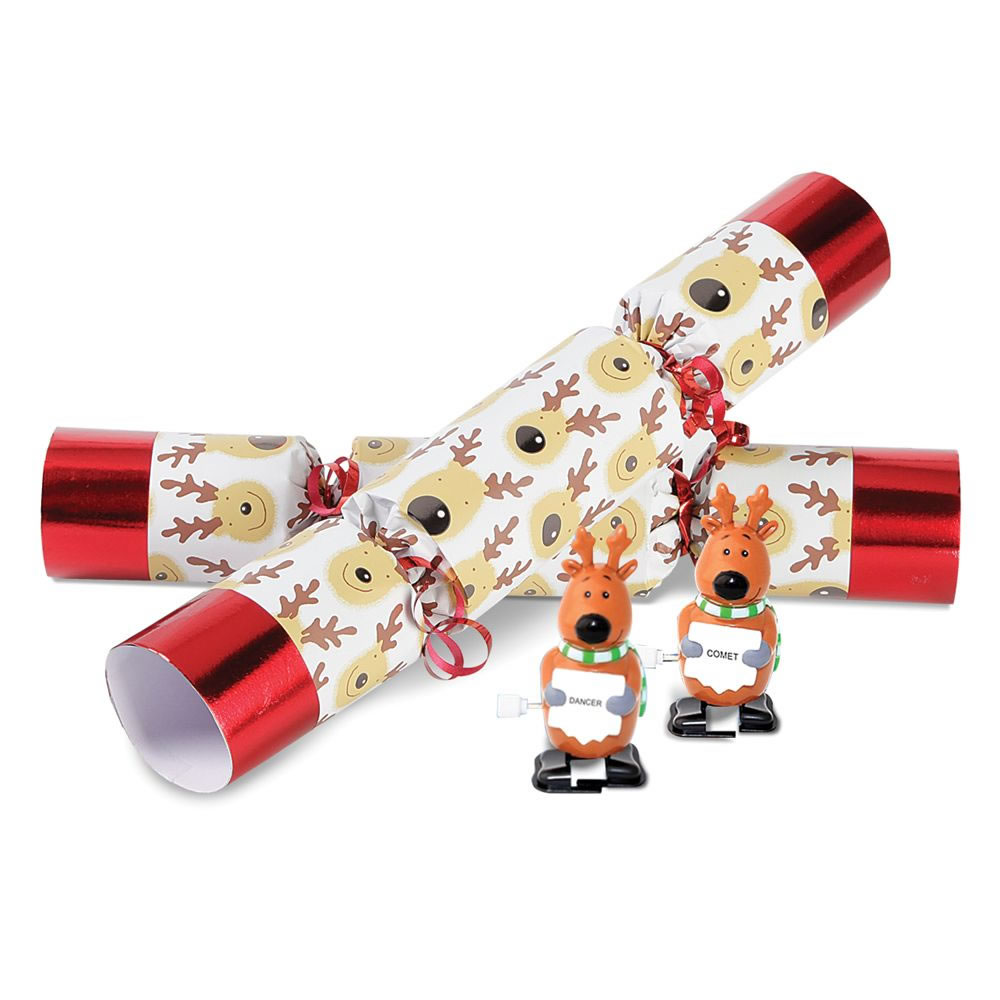 The Christmas Reindeer Racing Crackers 1