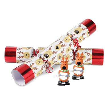 The Christmas Reindeer Racing Crackers.