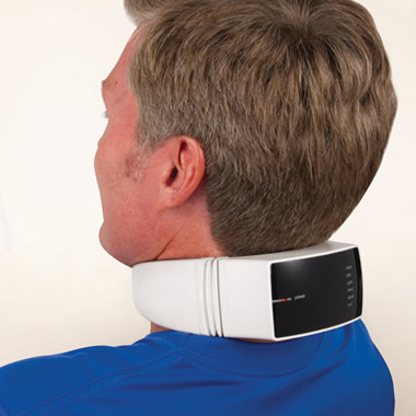 The Heat Therapy Neck Massager.