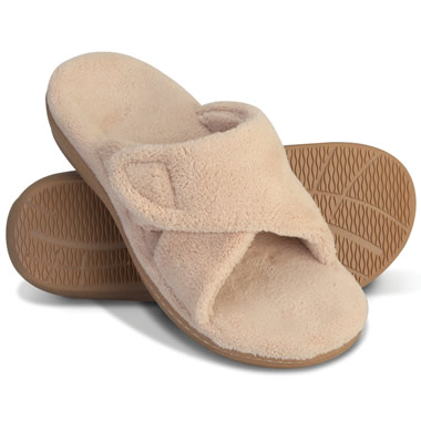 The Lady's Plantar Fasciitis Slipper Slides.
