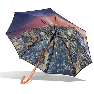 The Manhattan Skyline Umbrella.
