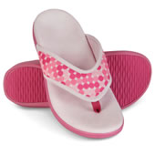 The Lady�s Plantar Fasciitis Slipper Sandals.