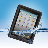 The Waterproof iPad Case.