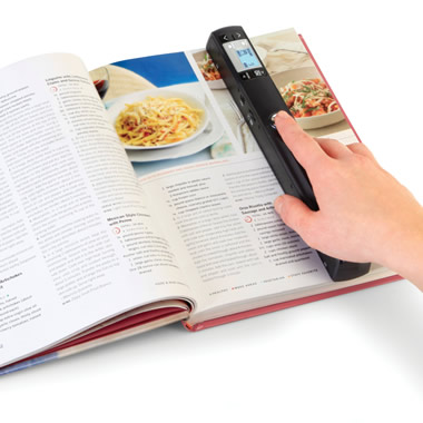 The Three Resolution Portable Handheld Scanner.